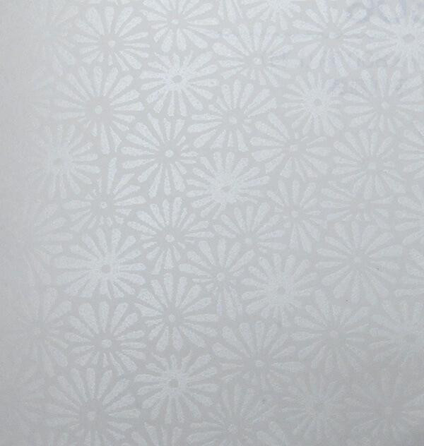 110 シルク印刷 鳥子紙 菊
