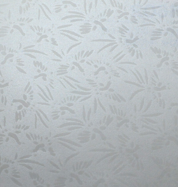 113 シルク印刷 鳥子紙 鶴