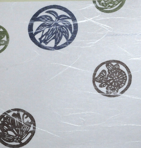 和紙 大典紙 紋