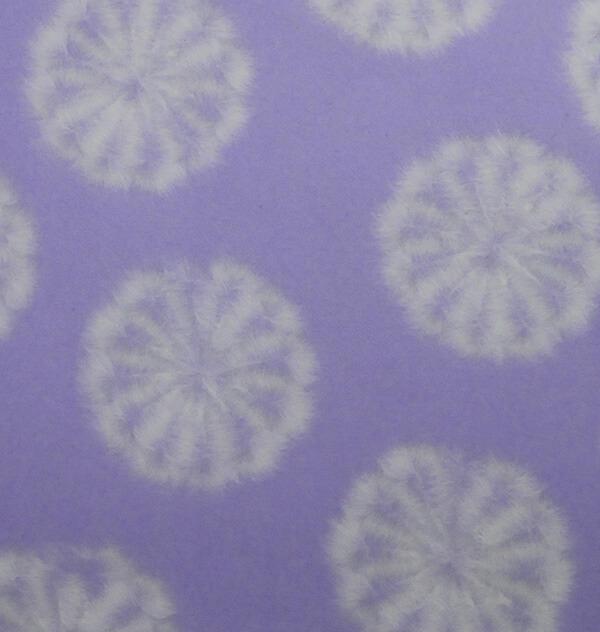 和紙 菊すき込み 紫