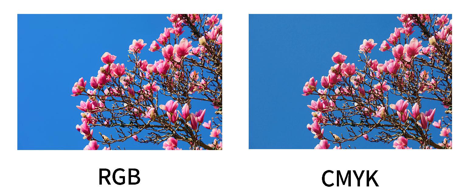 RGBからCMYKに変換するときの「くすみ」